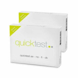Helsesjekk - Jern & Skjoldbruskkjerteltest fra Quicktest